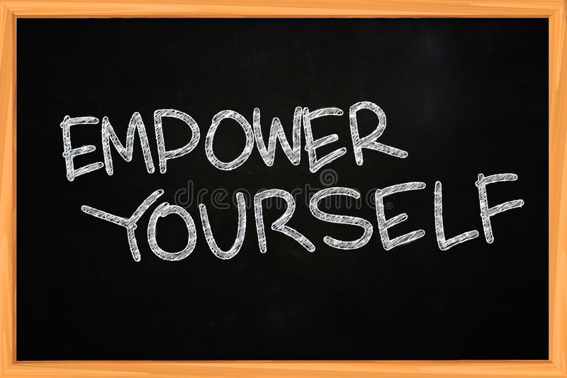 Empower Yourself stock images