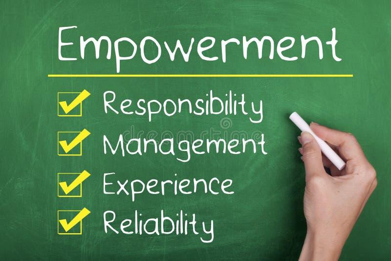 empowerment foto de archivo