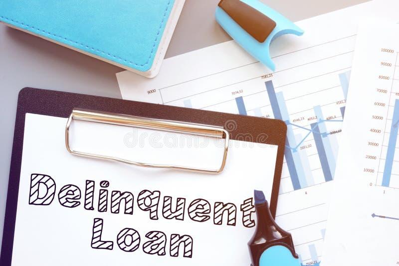 Empréstimo indecente é mostrado na foto conceitual de negócios fotos de stock royalty free