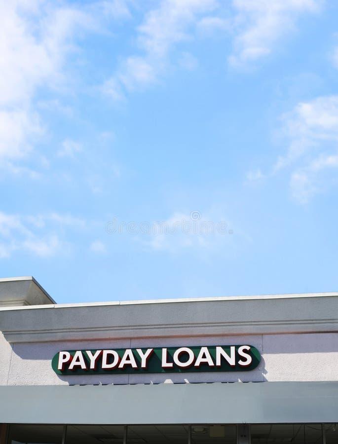 Empréstimos do dia de pagamento imagem de stock royalty free