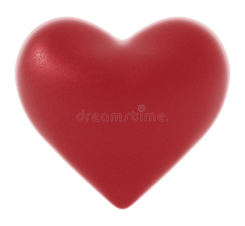 Emprega o coração com textura fina imagem de stock royalty free