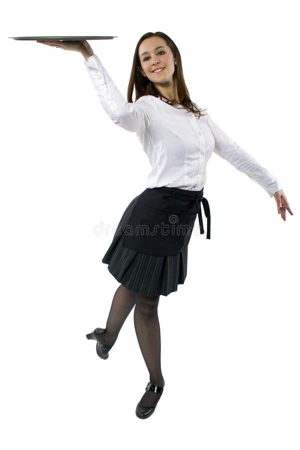 Empregada de mesa da dança foto de stock royalty free