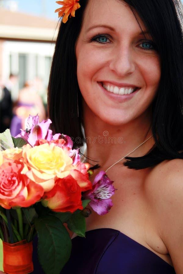 Empregada doméstica de honra fotografia de stock royalty free