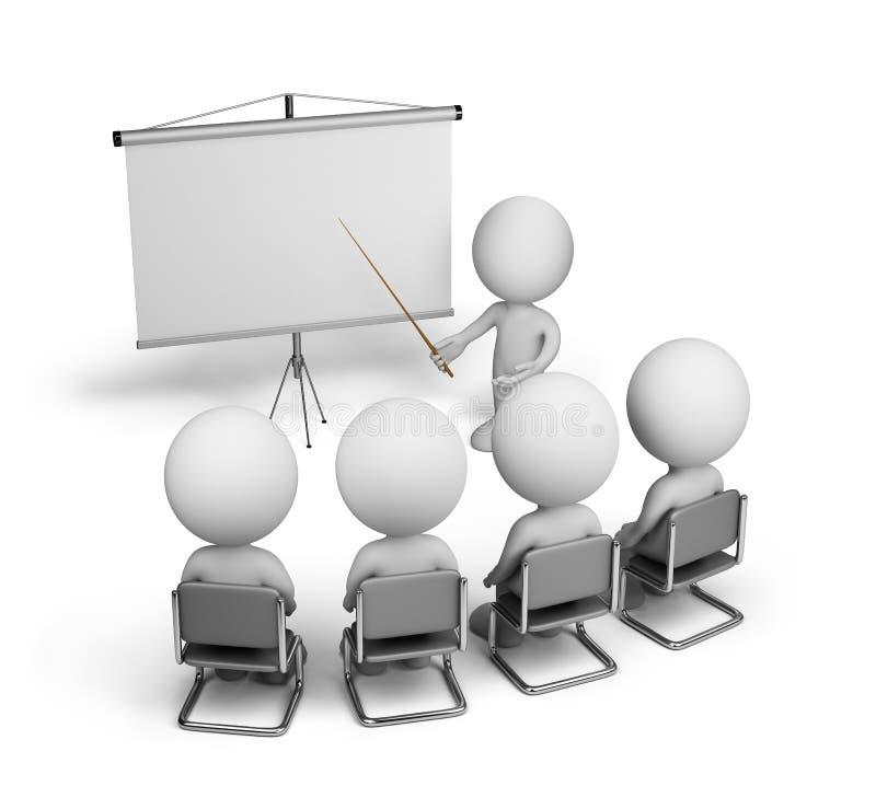 Empregados do treinamento ilustração stock