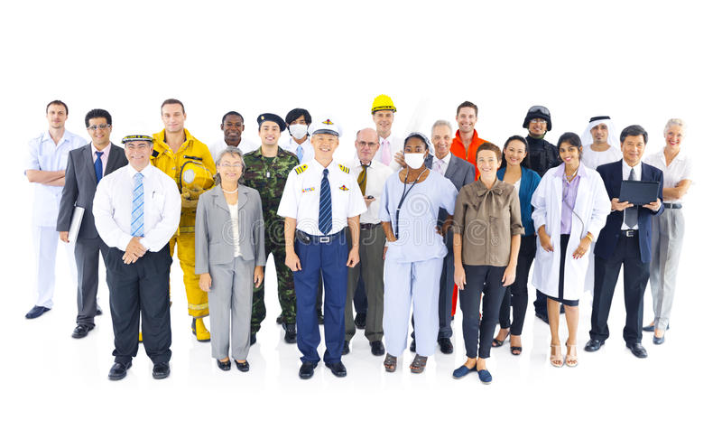 Emprego Job Concept incorporado do negócio imagem de stock