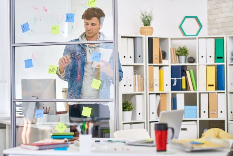 Empresário Startup novo imagens de stock