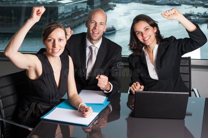 Empresários bem sucedidos imagens de stock royalty free