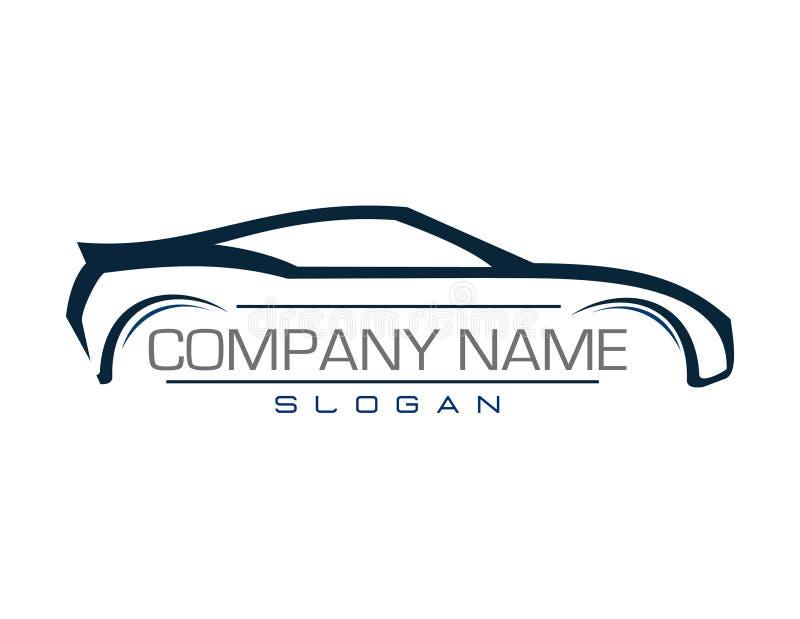 Empresa automóvel do projeto ilustração do vetor