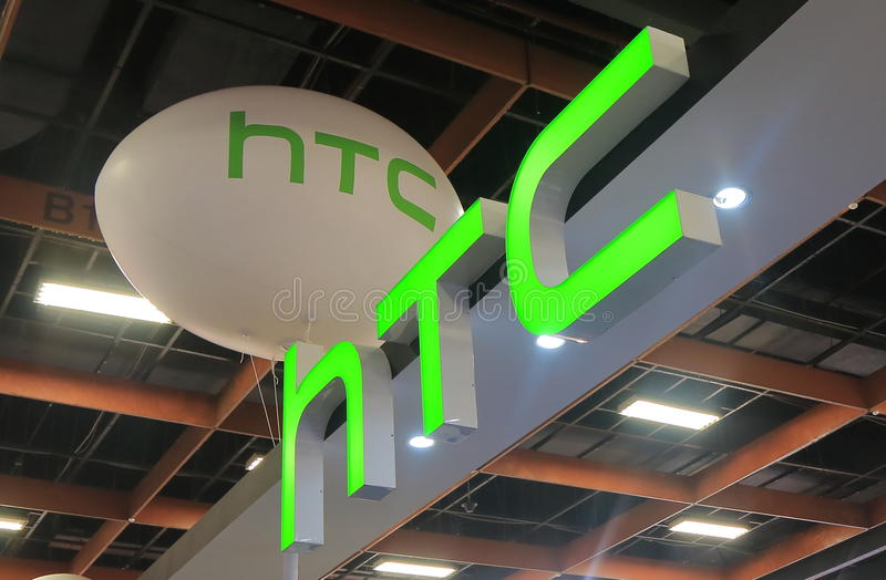 Empresa de eletrônica taiwanesa Taipei de HTC Taiwan foto de stock royalty free