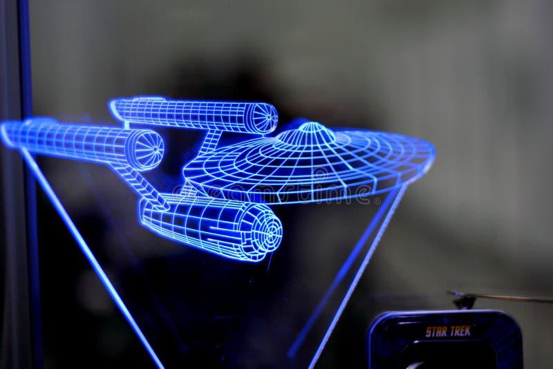 Empresa de Star Trek imagen de archivo libre de regalías