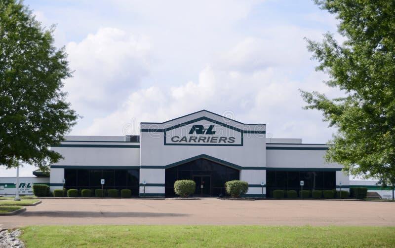 Empresa de transportes de los portadores de R&L imagenes de archivo
