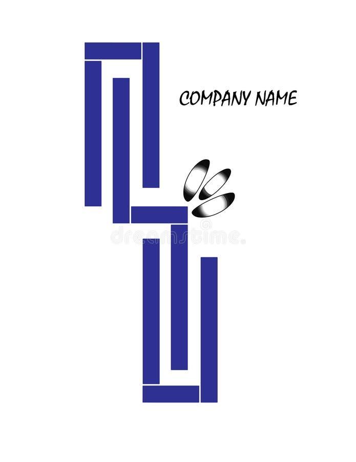 Empresa Logo Design imagem de stock
