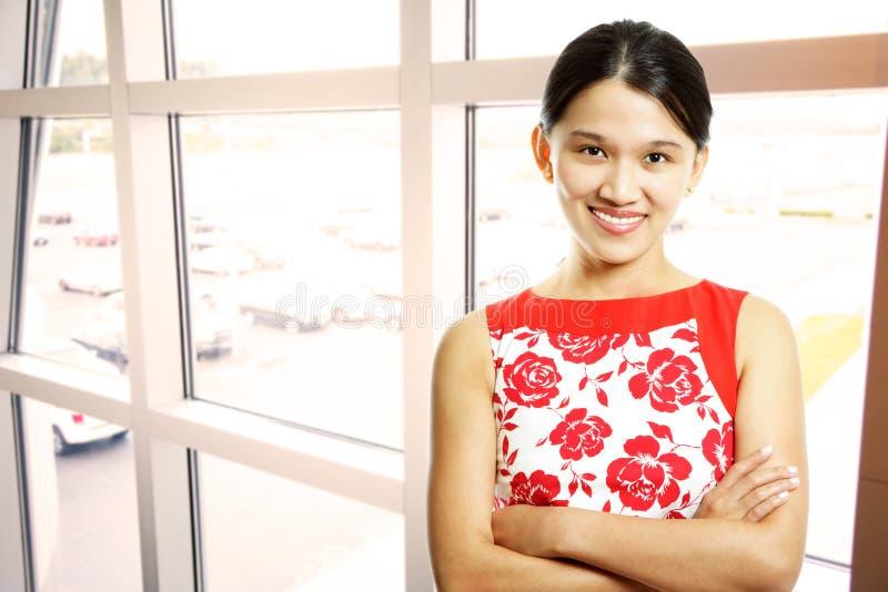 Empresaria asiática foto de archivo