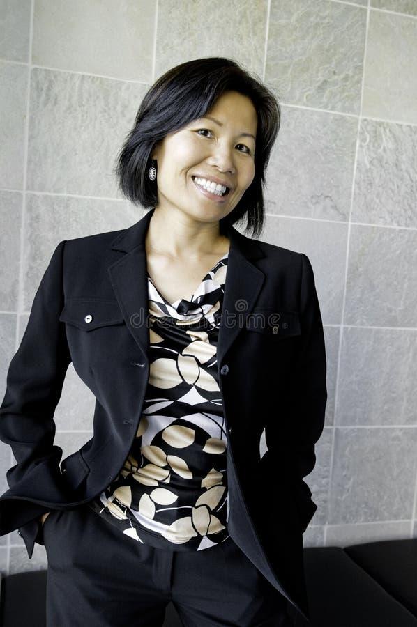 Empresaria asiática fotos de archivo libres de regalías