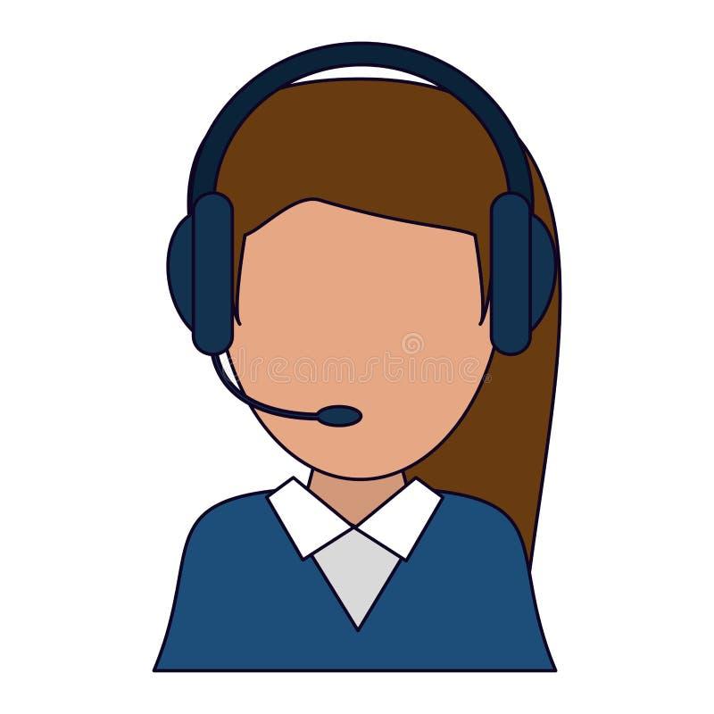 Empresaria (Fría-Ver) ilustración del vector