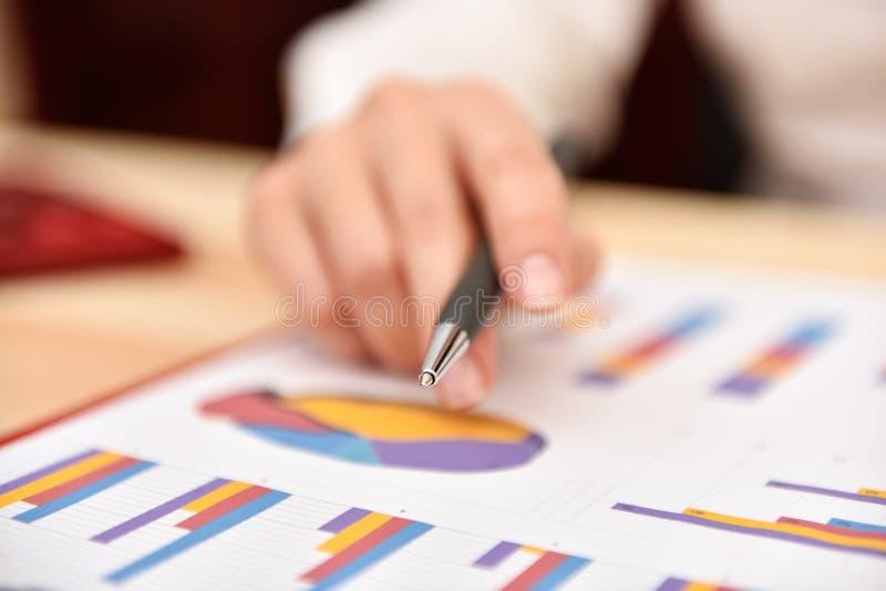 Empresaria Monitoring Stock Statistics imagen de archivo
