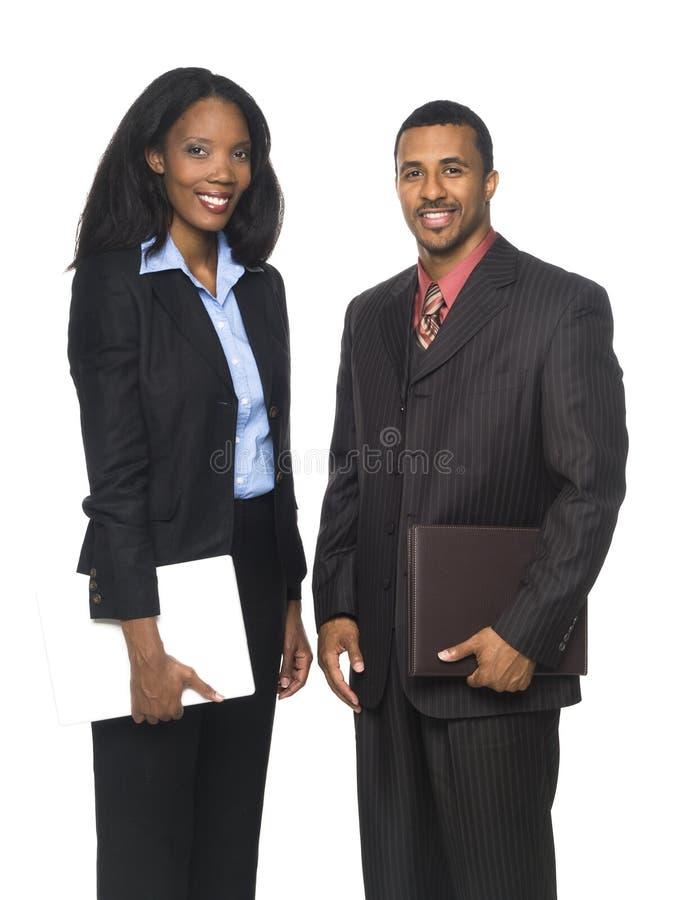Empresarios - Personas Alegres Fotos de archivo