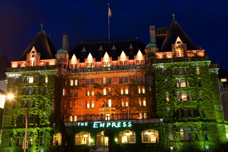 Download Empress Hotel editorial image. Image of tourism, victoria - 14945020