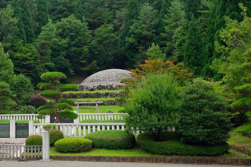 Empress Kojun`s tomb, Hachioji, Japan. Empress Kojun`s tomb in Hachioji, Japan royalty free stock photos