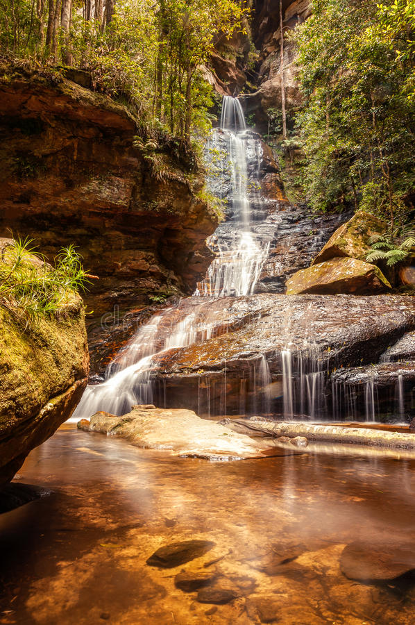 Empress Waterfall - lower tier royalty free stock image