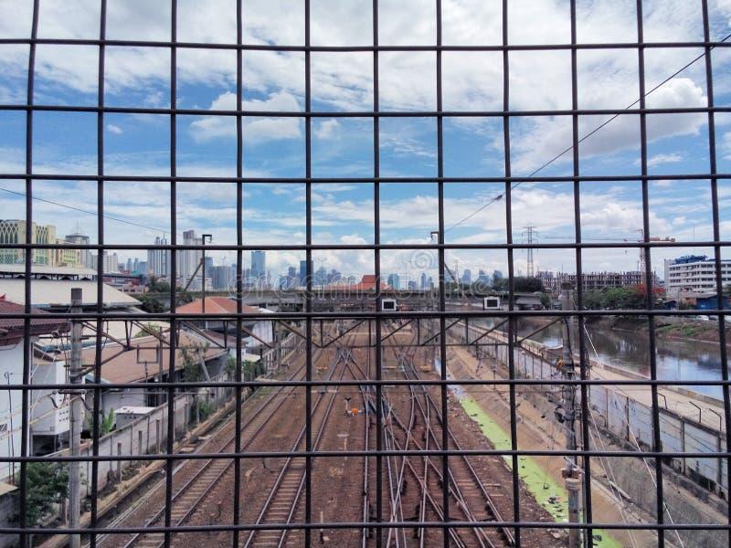 Emprisonné dans la ville photos stock