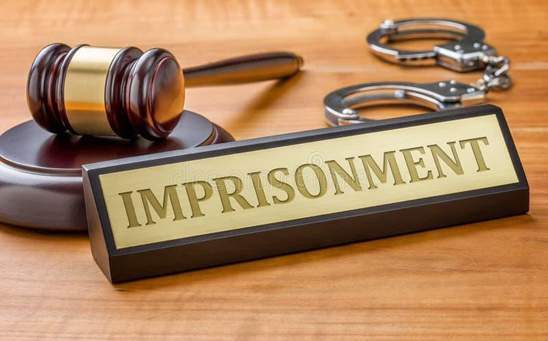 emprisonnement photo libre de droits