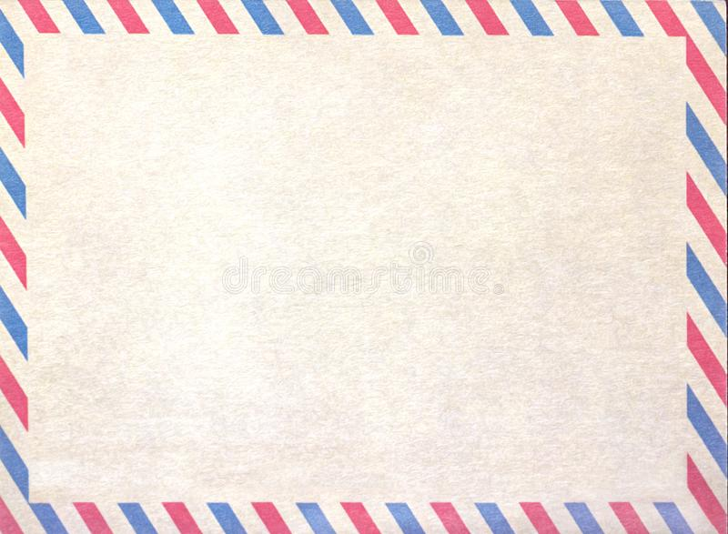 Empty airmail blank or letter, cardboard paper. Empty airmail blank or letter, cardboard paper stock images