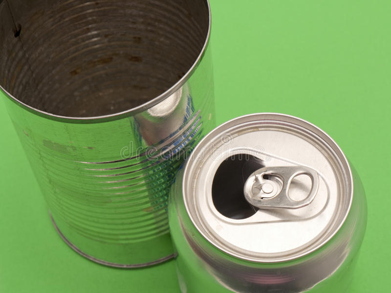 Download Empty Aluminum And Metal Can Stock Image - Image: 12434723