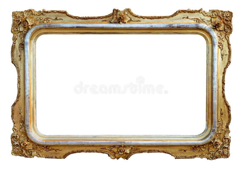 Download Empty antique frame stock image. Image of style, frame - 25663153