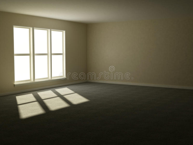 Download Empty apartment stock illustration. Illustration of clean - 11649579