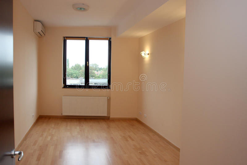 Empty apartment royalty free stock photos