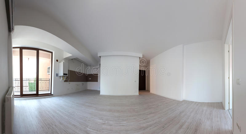 Empty apartment royalty free stock image