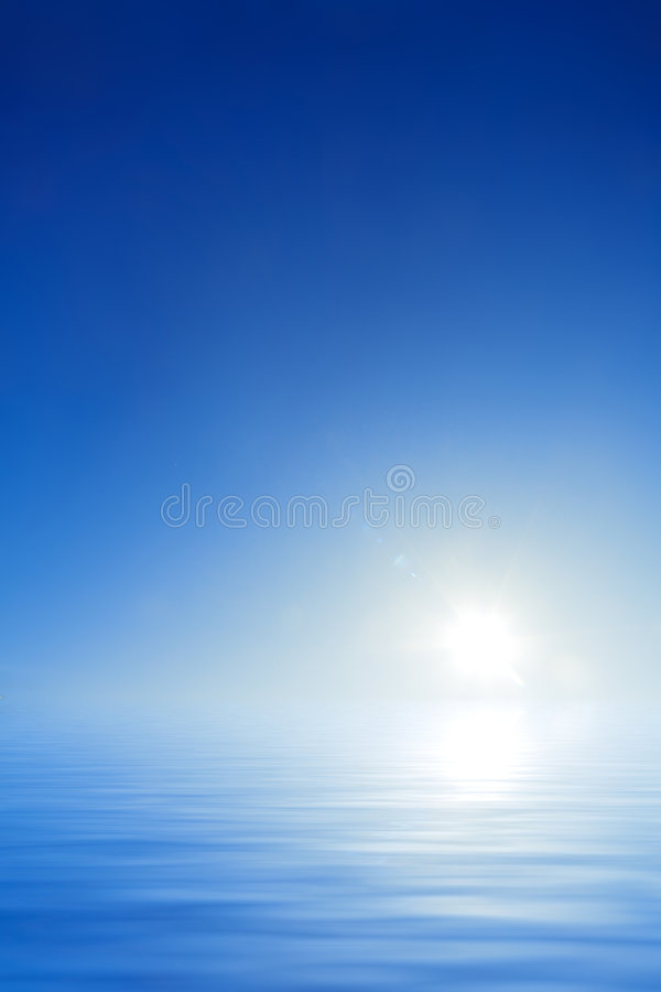 Download Empty Background Sky And Water Royalty Free Stock Images - Image: 6926399