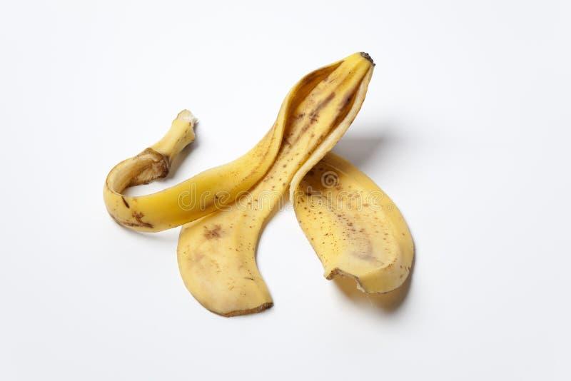 Empty Banana Skin Stock Photo