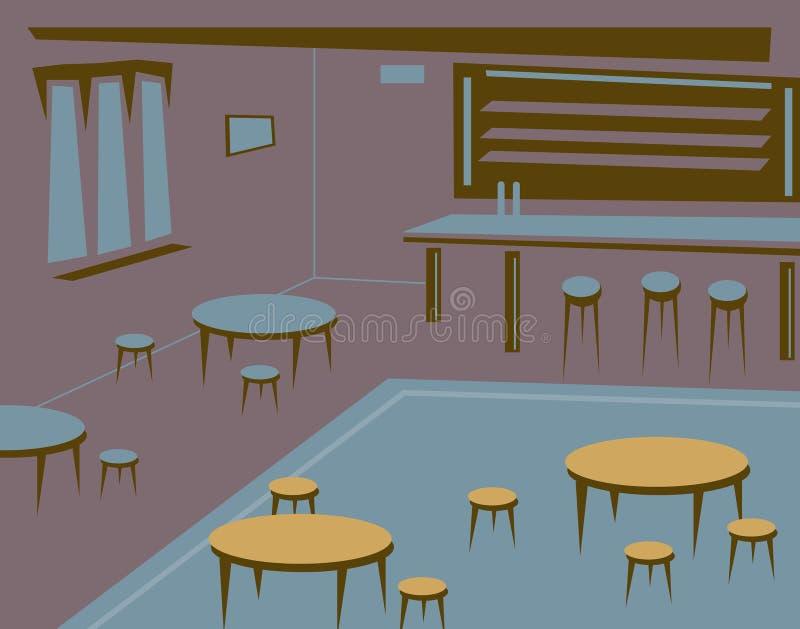 Download Empty bar stock vector. Illustration of background, interior - 16848414