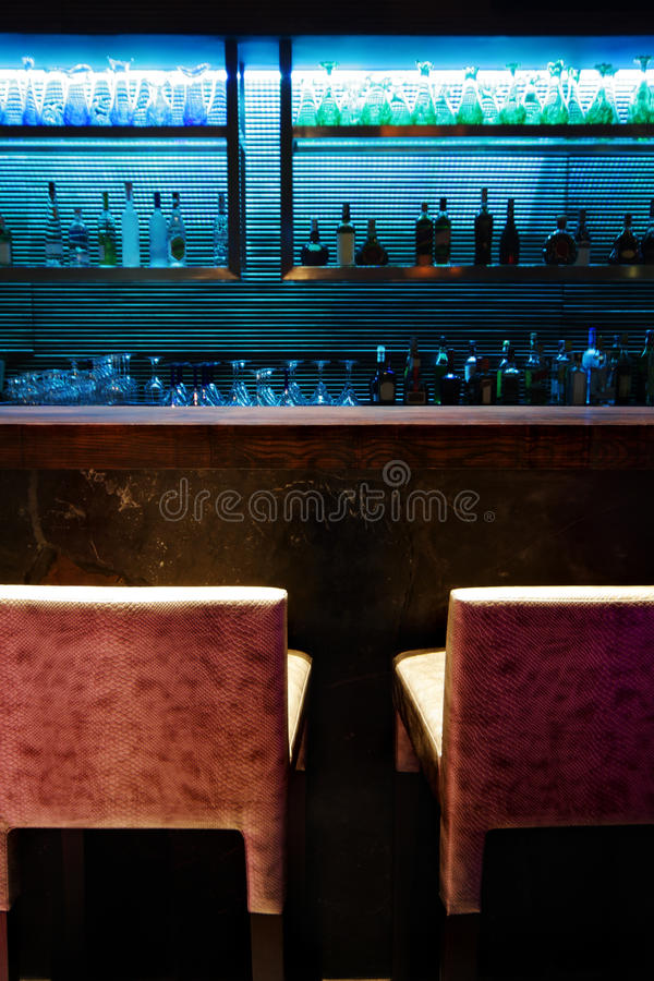 Free Empty Bar Counter Royalty Free Stock Image - 13059386