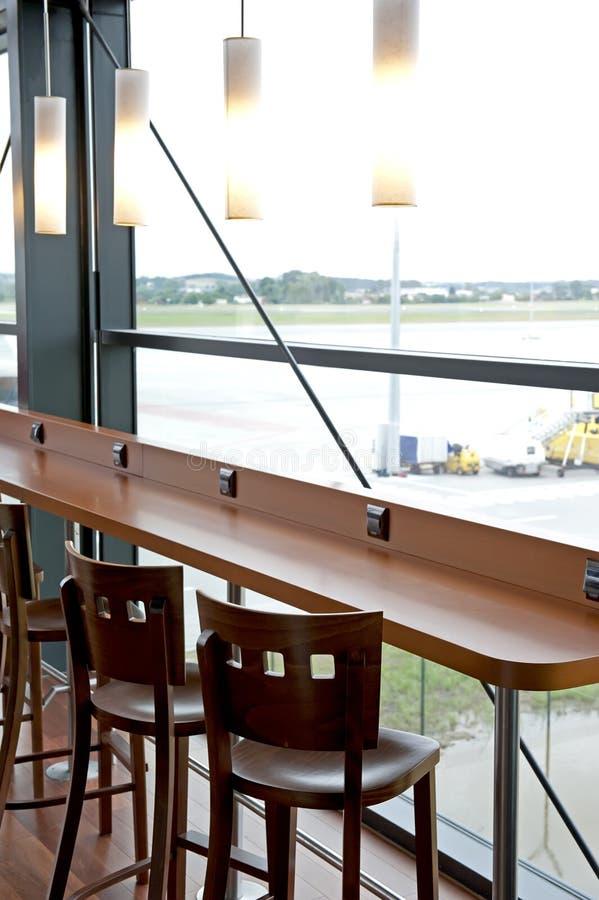 Empty bar interior