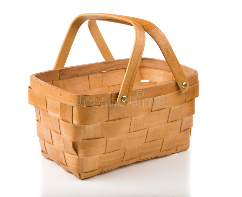 Empty Basket Royalty Free Stock Images