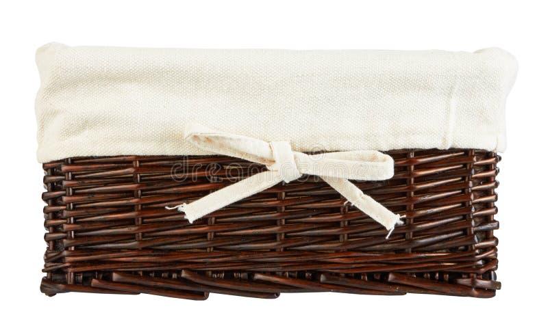 Download Empty basket stock image. Image of mushroom, wicker, beautiful - 27377305