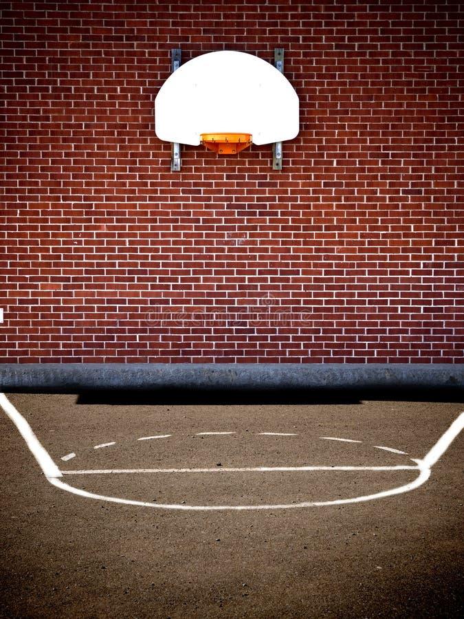 Free Empty Basketball Court Royalty Free Stock Image - 8927566