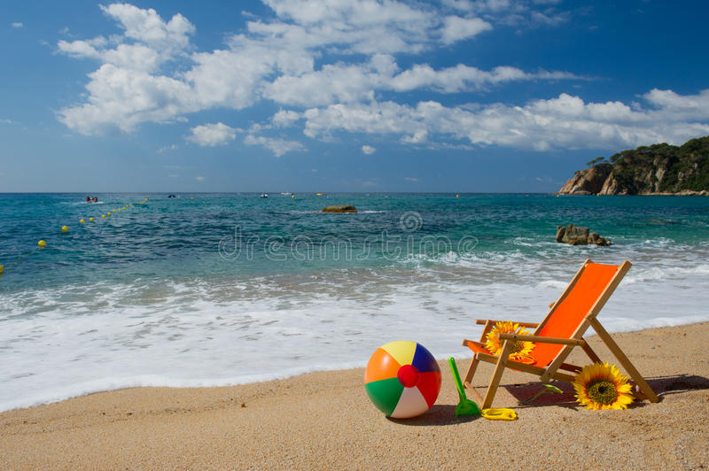 Download Empty Beach Chair Stock Images - Image: 32873634