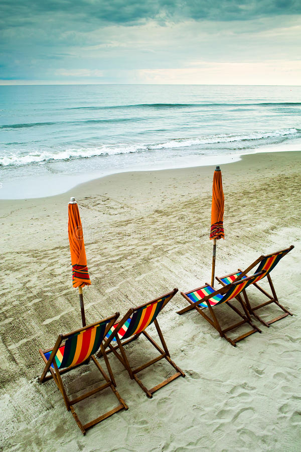 Free Empty Beach (ending Summer) Royalty Free Stock Photography - 12146617