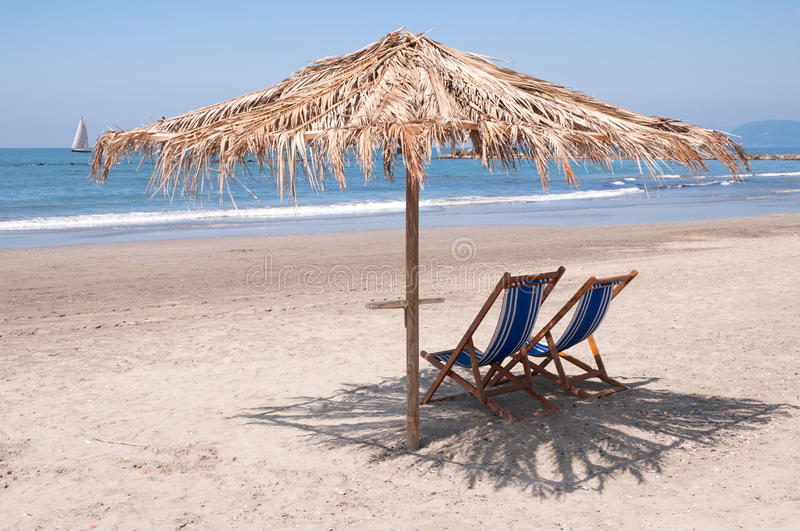 Download Empty Beach Waiting For Summer Stock Photography - Image: 14480142