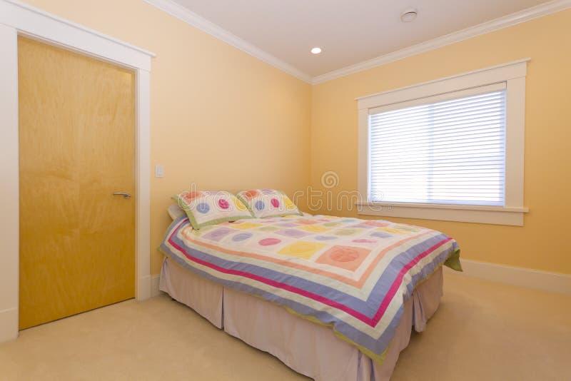 Empty Bedroom Royalty Free Stock Photography