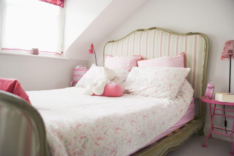 Empty bedroom royalty free stock photos