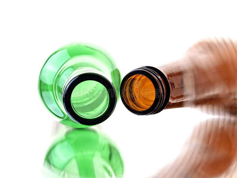 Download Empty Beer Bottles stock image. Image of circle, amber - 23619483