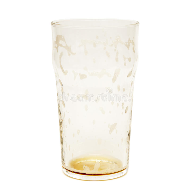 Free Empty Beer Glass Royalty Free Stock Images - 17913059