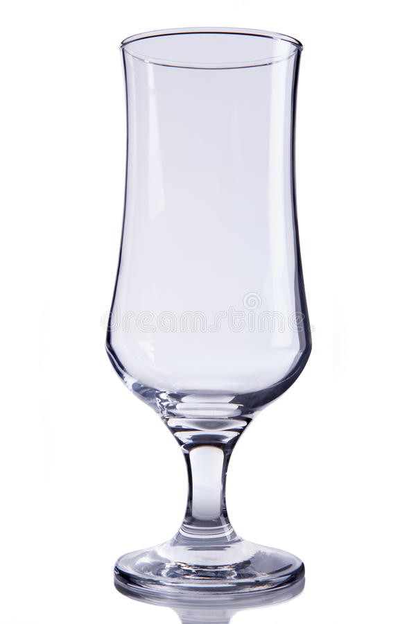 Empty beer glass stock photos