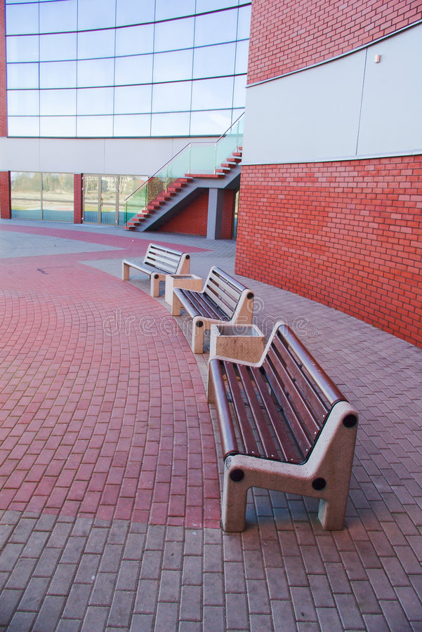 Free Empty Benches Royalty Free Stock Image - 5011536
