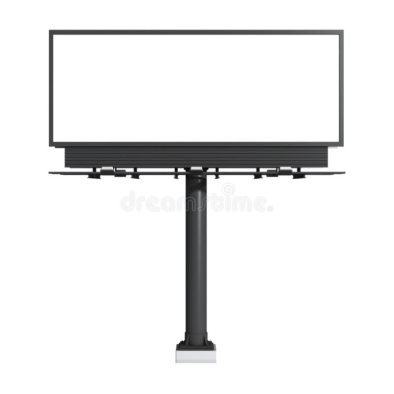 Download Empty billboard stock illustration. Image of canvas, firm - 20381861